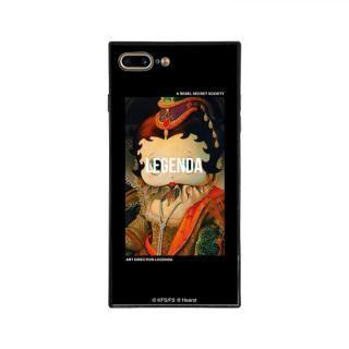 iPhone8 Plus/7 Plus ケース LEGENDA×BETTYBOOP スクエア型 ガラスケース LADY BETTY OF BOOP iPhone 8 Plus/7 Plus【10月下旬】