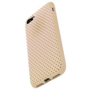 【iPhone8/7ケース】エラストマー AndMesh MESH CASE Ivory iPhone 8/7
