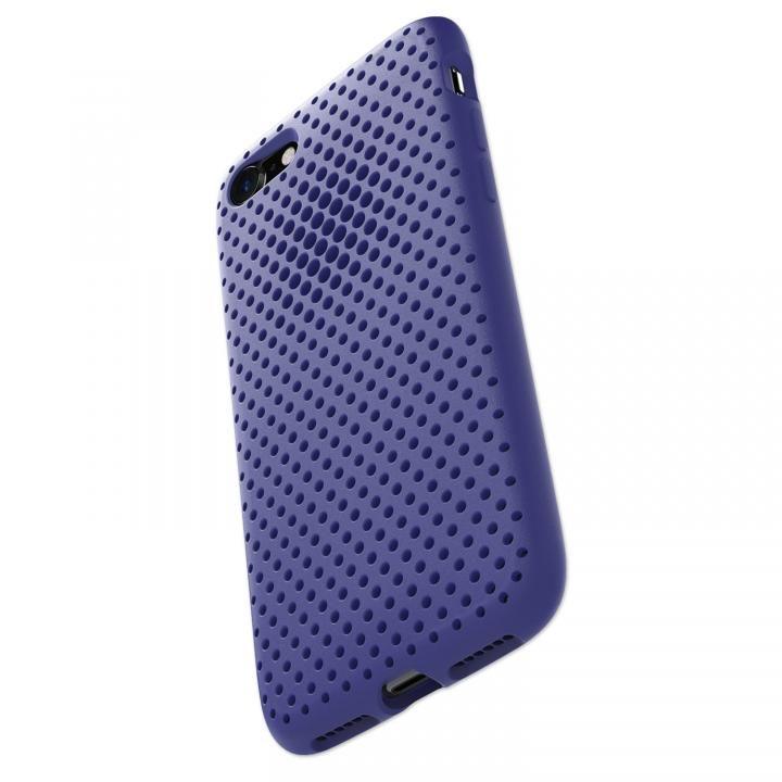 iPhone8/7 ケース エラストマー AndMesh MESH CASE Neo Blue iPhone 8/7_0