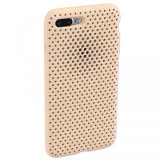 【iPhone8 Plus/7 Plusケース】エラストマー AndMesh MESH CASE Ivory iPhone 8 Plus/7 Plus