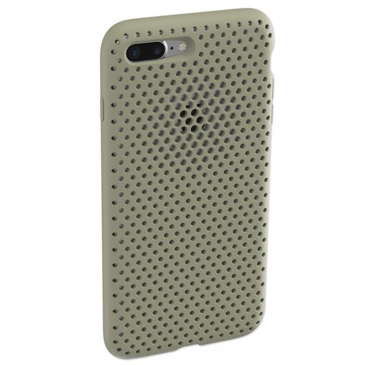 エラストマー AndMesh MESH CASE Clay Green iPhone 8 Plus/7 Plus