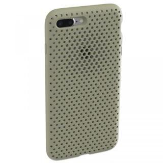 iPhone8 Plus/7 Plus ケース エラストマー AndMesh MESH CASE Clay Green iPhone 8 Plus/7 Plus