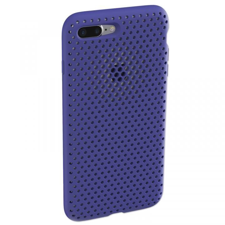 iPhone8 Plus/7 Plus ケース エラストマー AndMesh MESH CASE Neo Blue iPhone 8 Plus/7 Plus_0