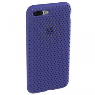 iPhone8 Plus/7 Plus ケース エラストマー AndMesh MESH CASE Neo Blue iPhone 8 Plus/7 Plus