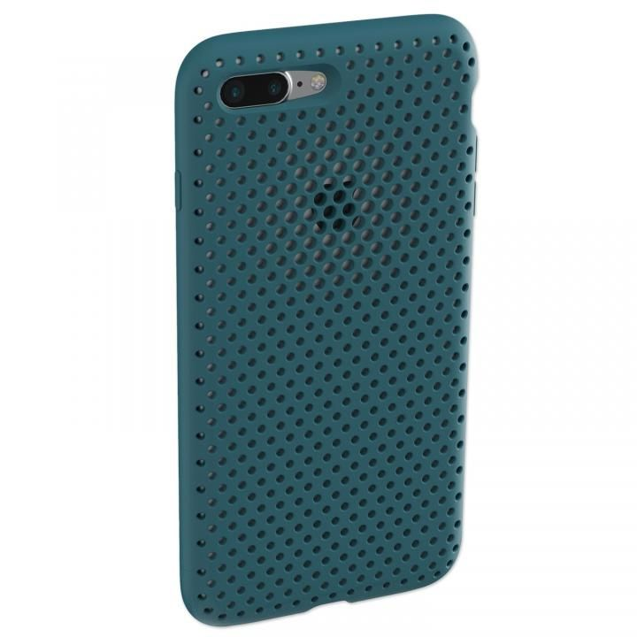 iPhone8 Plus/7 Plus ケース エラストマー AndMesh MESH CASE Lake Green iPhone 8 Plus/7 Plus_0
