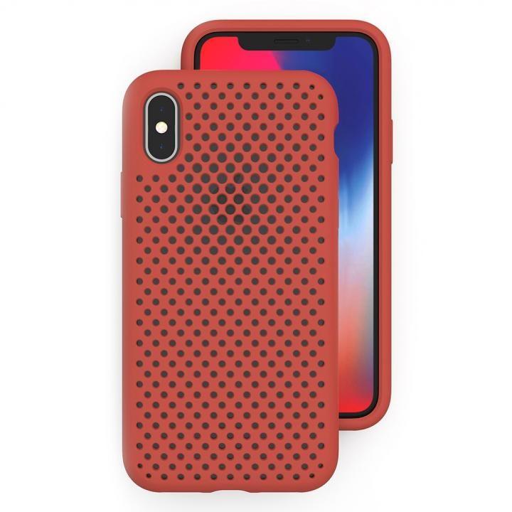 iPhone XS/X ケース エラストマー AndMesh MESH CASE Terracotta iPhone XS/X_0