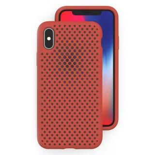 エラストマー AndMesh MESH CASE Terracotta iPhone X
