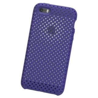 【iPhone SEケース】エラストマー AndMesh MESH CASE Neo Blue iPhone SE