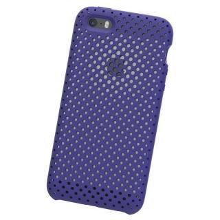 【iPhone SE ケース】エラストマー AndMesh MESH CASE Neo Blue iPhone SE