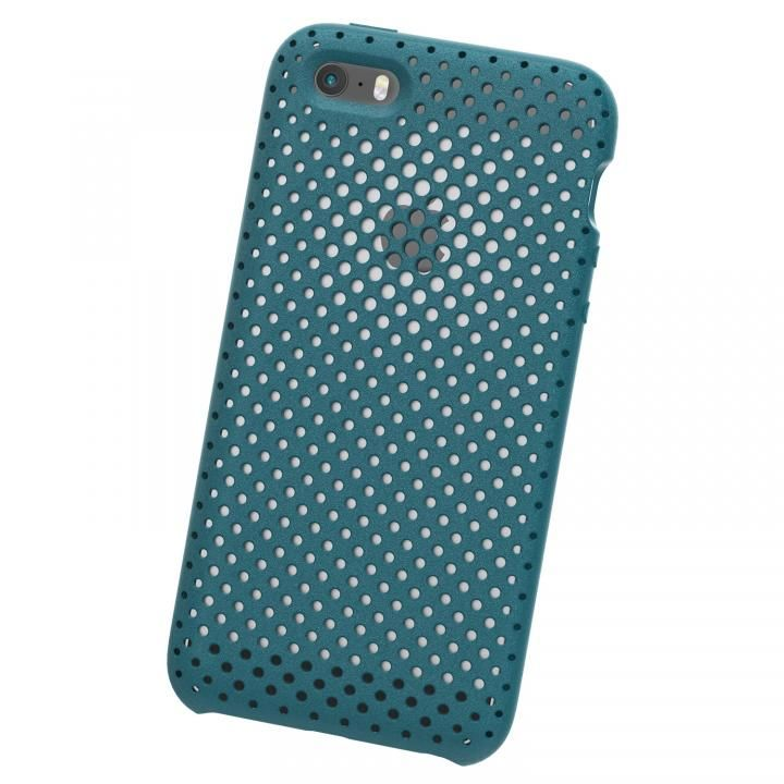 iPhone SE ケース エラストマー AndMesh MESH CASE Lake Green iPhone SE_0