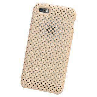 【iPhone SE ケース】エラストマー AndMesh MESH CASE Ivory iPhone SE