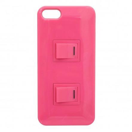 iPhone SE/5s/5 パチパチスイッチケース(ピンク)