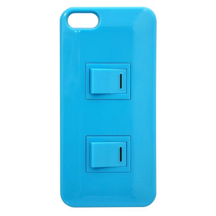iPhone SE/5s/5 パチパチスイッチケース(ブルー)