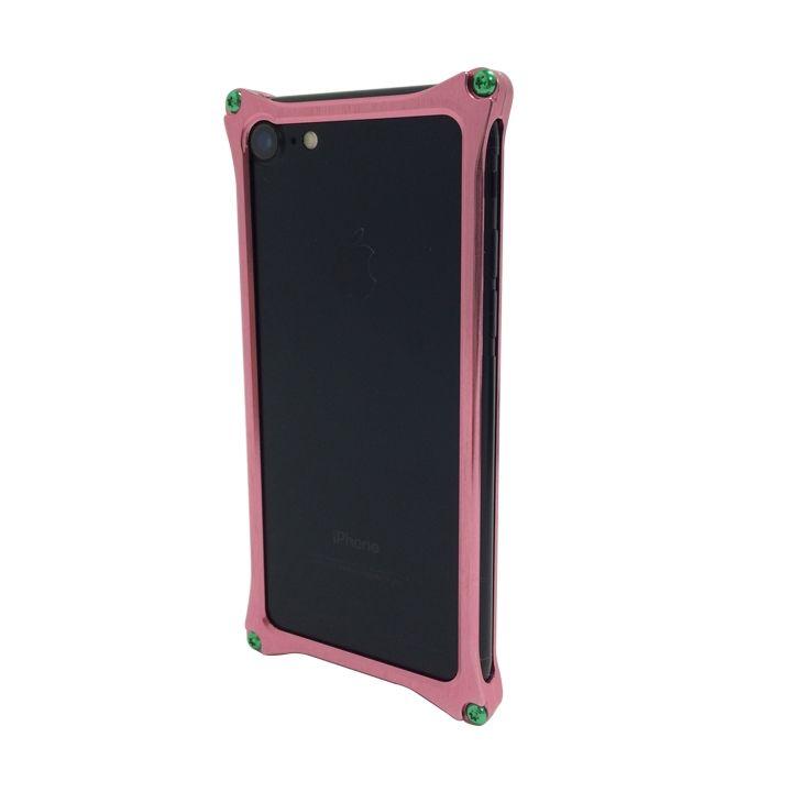 iPhone7 ケース [AppBank Store オリジナル]ソリッドバンパー ローズゴールド iPhone 7_0