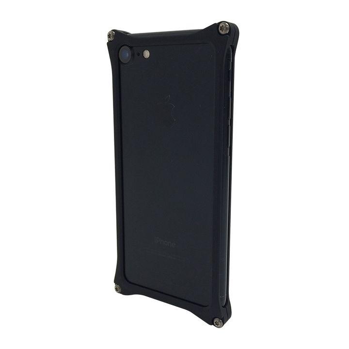 iPhone7 ケース [AppBank Store オリジナル]ソリッドバンパー マットブラック iPhone 7_0