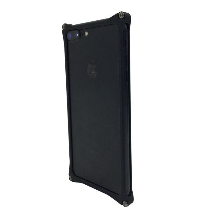 【iPhone7 Plusケース】[AppBank Store オリジナル]ソリッドバンパー マットブラック iPhone 7 Plus_0