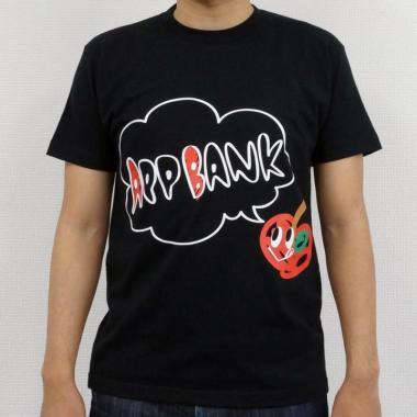 AppBankTシャツ ブラックVo.1 サイズM