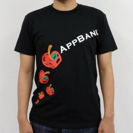 AppBankTシャツ ブラックVo.2 サイズS