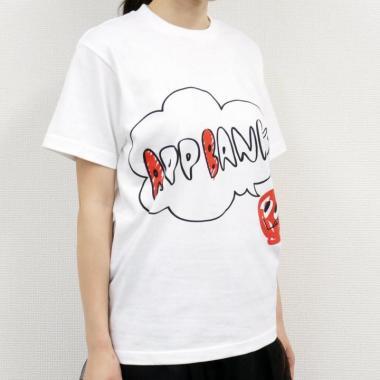AppBankTシャツ ホワイトVo.1 サイズM_1