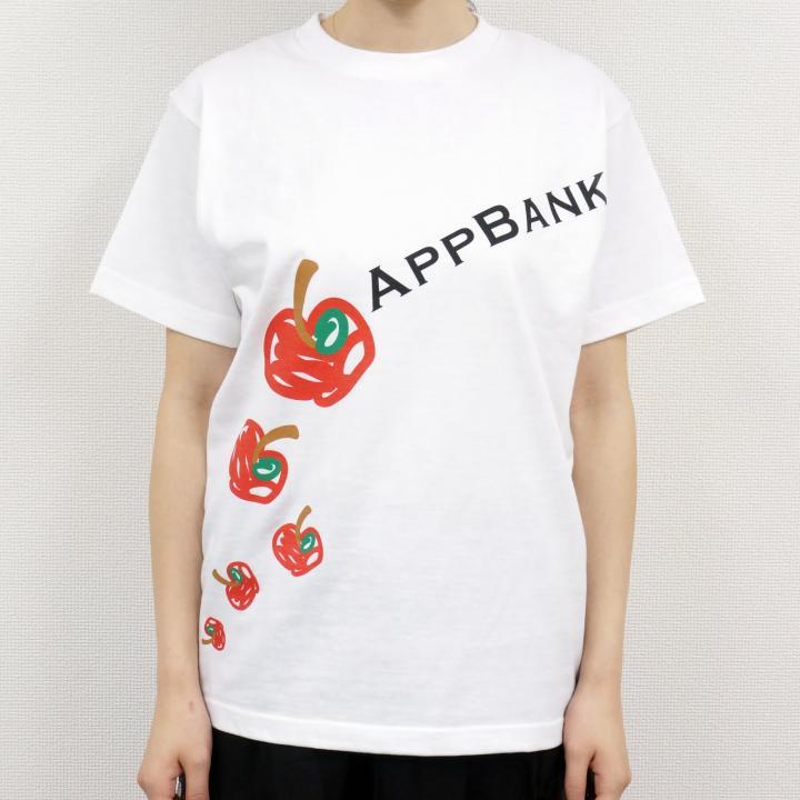 AppBankTシャツ ホワイトVo.2 サイズL