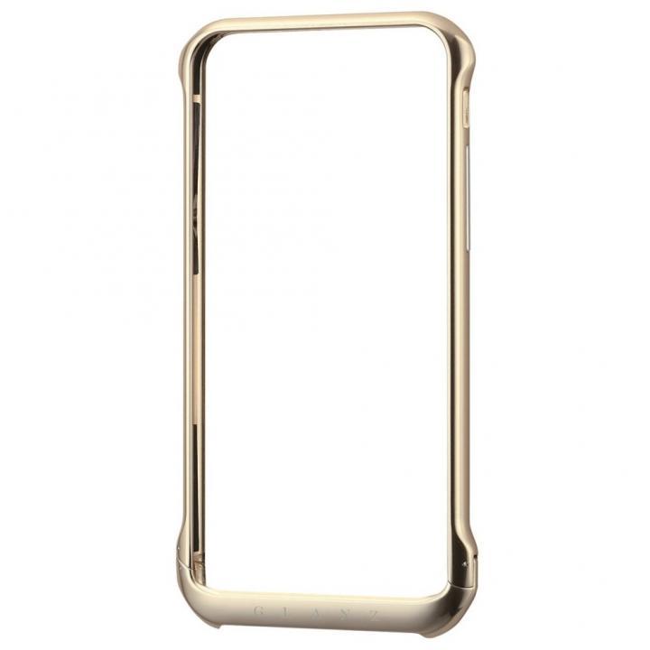 【iPhone6ケース】ボルトレスデザイン アルミバンパー ゴールド iPhone 6_0