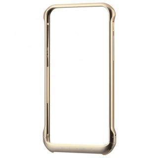 ボルトレスデザイン アルミバンパー ゴールド iPhone 6
