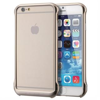 【iPhone6ケース】ボルトレスデザイン アルミバンパー ゴールド iPhone 6_1