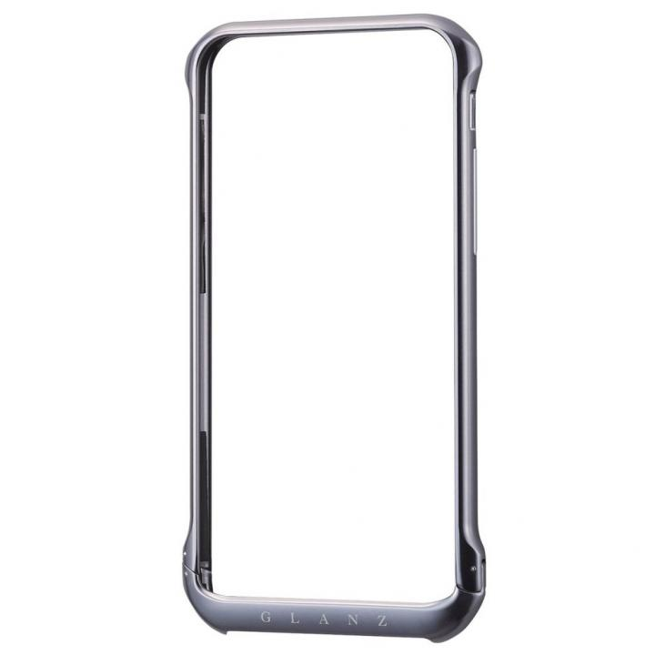 iPhone6 ケース ボルトレスデザイン アルミバンパー ブラック iPhone 6_0