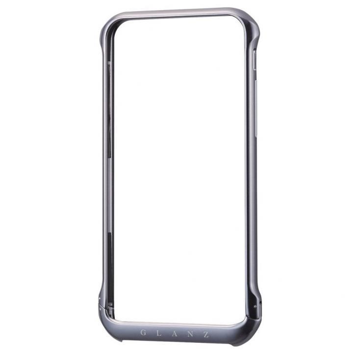 【iPhone6ケース】ボルトレスデザイン アルミバンパー ブラック iPhone 6_0