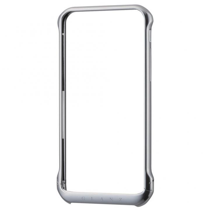 【iPhone6ケース】ボルトレスデザイン アルミバンパー シルバー iPhone 6_0