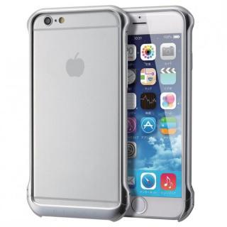【iPhone6ケース】ボルトレスデザイン アルミバンパー シルバー iPhone 6_1