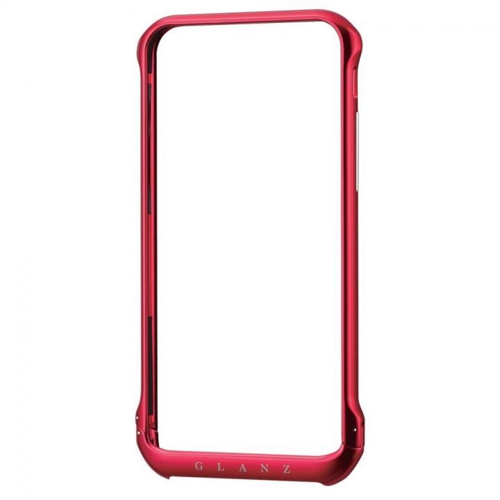 ボルトレスデザイン アルミバンパー レッド iPhone 6