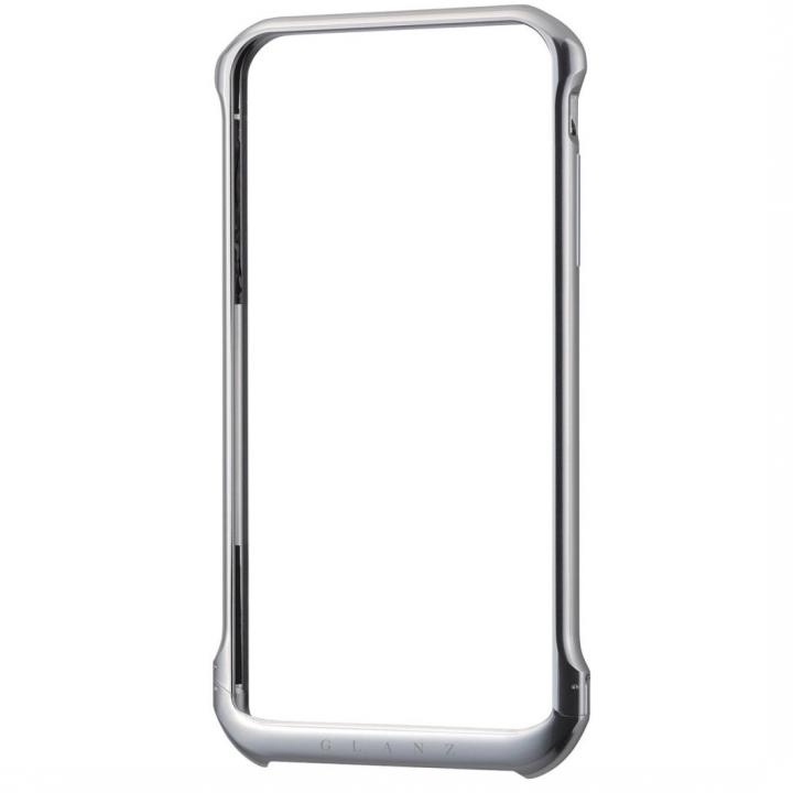 【iPhone6 Plusケース】ボルトレスデザイン アルミバンパー シルバー iPhone 6 Plus_0