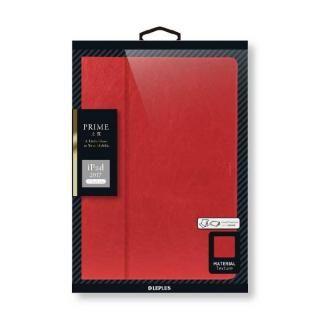 薄型PUレザーケース 「PRIME」 レッド iPad 2017/2018 9.7インチ