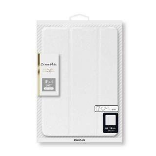 背面クリアフラップケース 「Clear Note」 ホワイト iPad 2017/2018 9.7インチ