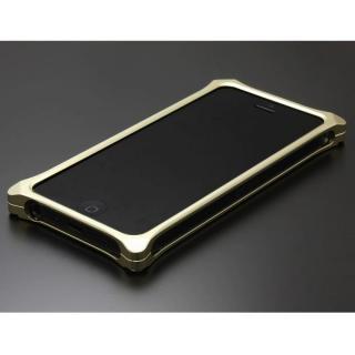 ソリッドバンパー for iPhoneSE/5s/5 シャンパンゴールド