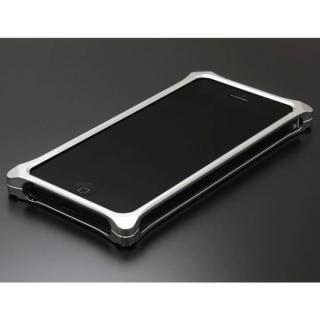 ソリッドバンパー for iPhoneSE/5s/5 シルバー