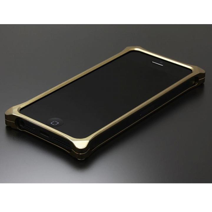 【iPhone SE/5s/5ケース】ソリッドバンパー for iPhoneSE/5s/5 チタン_0