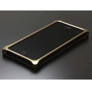 ソリッドバンパー for iPhoneSE/5s/5 チタン