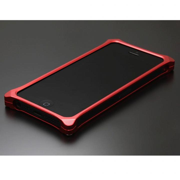 iPhone SE/5s/5 ケース ソリッドバンパー for iPhoneSE/5s/5 レッド_0