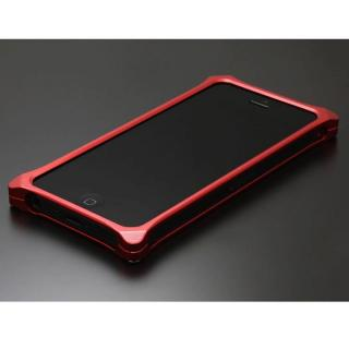 iPhone SE/5s/5 ケース ソリッドバンパー for iPhoneSE/5s/5 レッド
