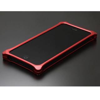 ソリッドバンパー for iPhoneSE/5s/5 レッド