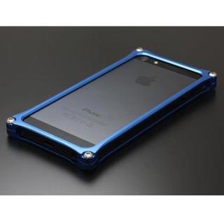 【iPhone SE/5s/5ケース】ソリッドバンパー for iPhoneSE/5s/5 ブルー_1