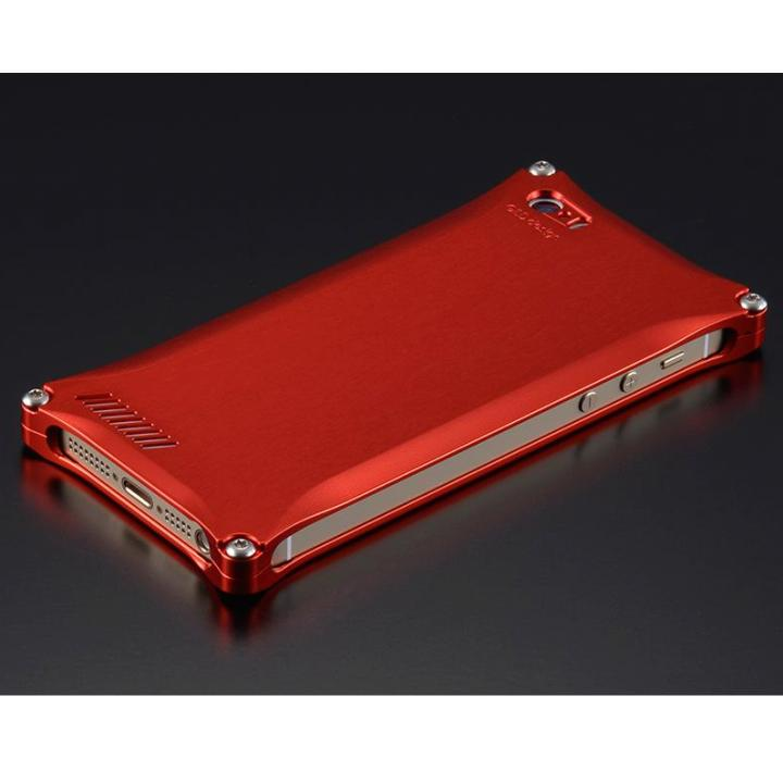 【iPhone SE/5s/5ケース】ソリッドケース for iPhoneSE/5s/5 レッド_0