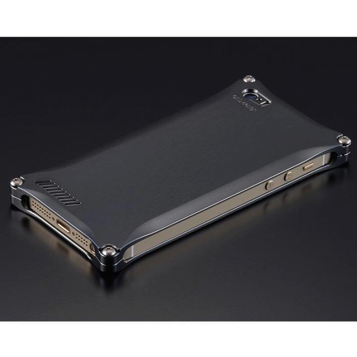 iPhone SE/5s/5 ケース ソリッドケース for iPhoneSE/5s/5 グレー_0