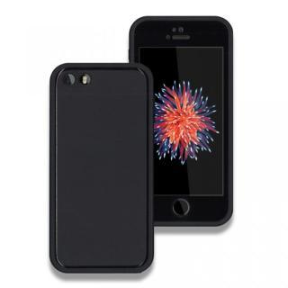薄い防水ケース JEMGUN Fero ブラック iPhone SE/5s/5