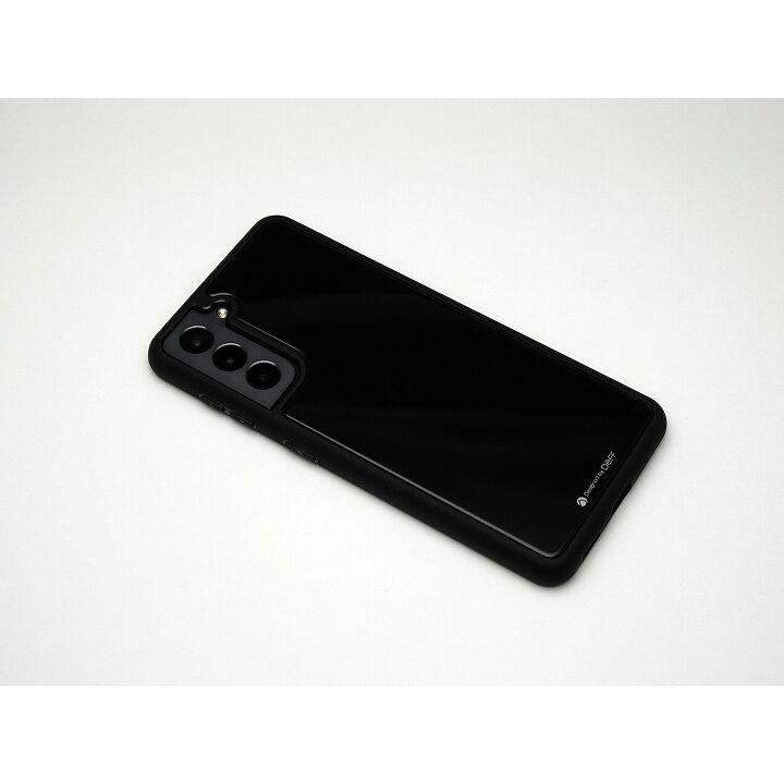 Deff Hybrid Case Etanze ブラック Galaxy S21_0