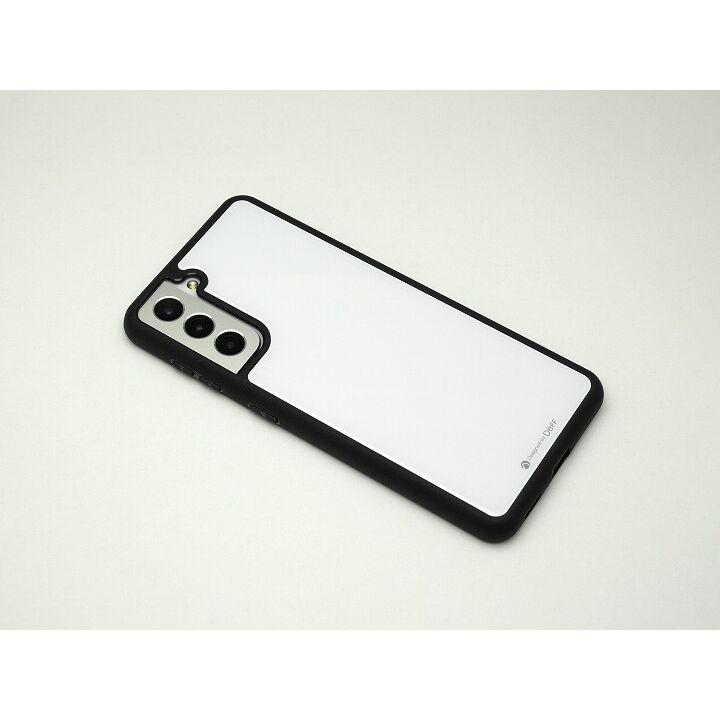 Deff Hybrid Case Etanze ホワイト Galaxy S21_0