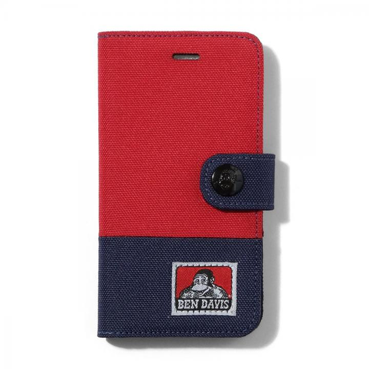 BENDAVIS  バイカラー手帳型ケース レッド/ネイビー iPhone 6s/6