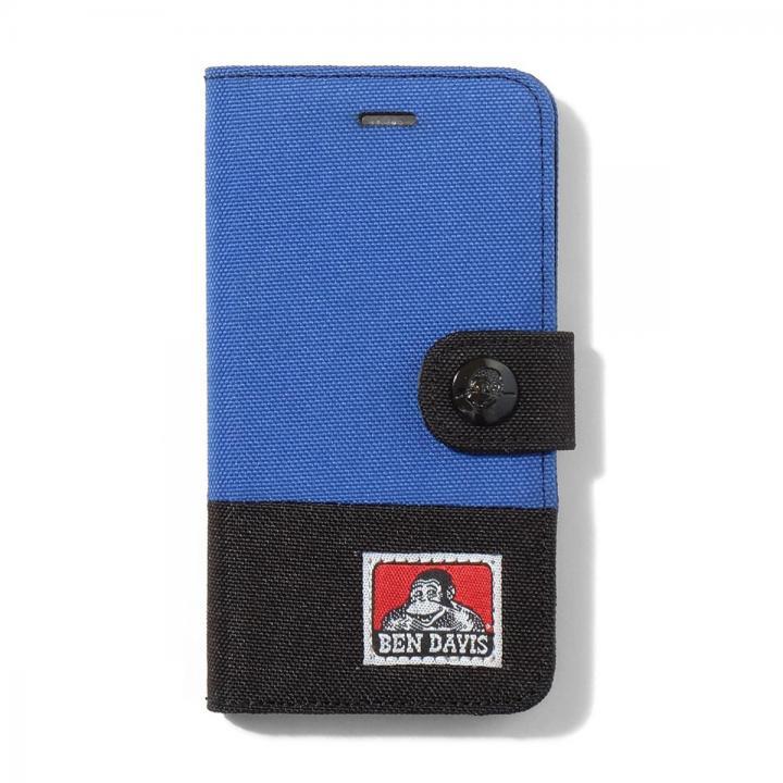 iPhone6s/6 ケース BENDAVIS  バイカラー手帳型ケース ブルー/ブラック iPhone 6s/6_0